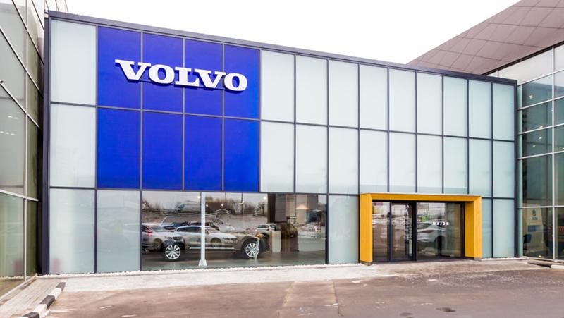 Major Volvo МКАД 18 км