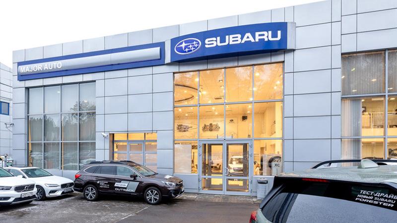 Major Subaru МКАД 47