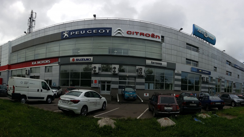 Пежо Автомир на Щёлковской