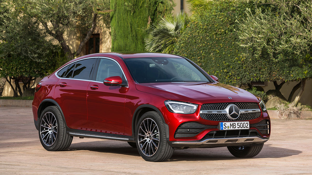 Mercedes-Benz GLC купе