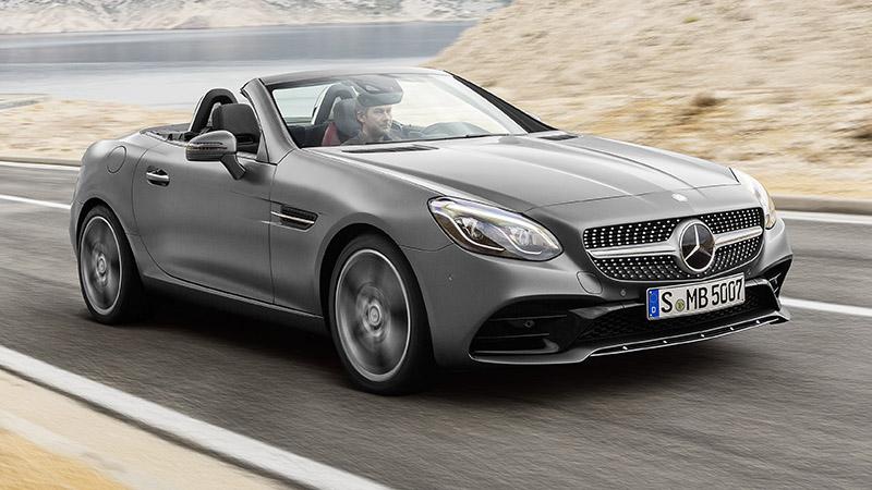 Mercedes-Benz SLC родстер