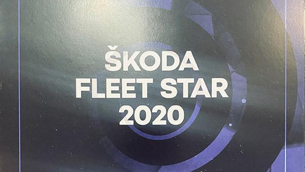 АвтоСпецЦентр ŠKODA – лауреат премии «ŠKODA FLEET STAR 2021»