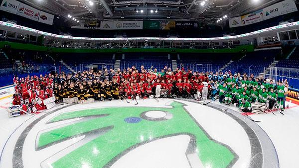 В Уфе завершился Международный юношеский хоккейный турнир «КУБОК ŠKODA»