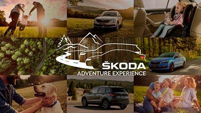 Приглашение на ŠKODA ADVENTURE EXPERIENCE